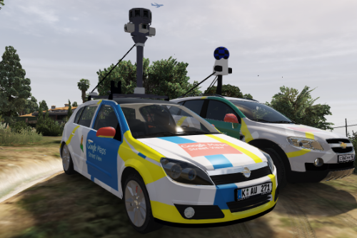 2004 Opel Astra H Google Maps Street View car [Replace]